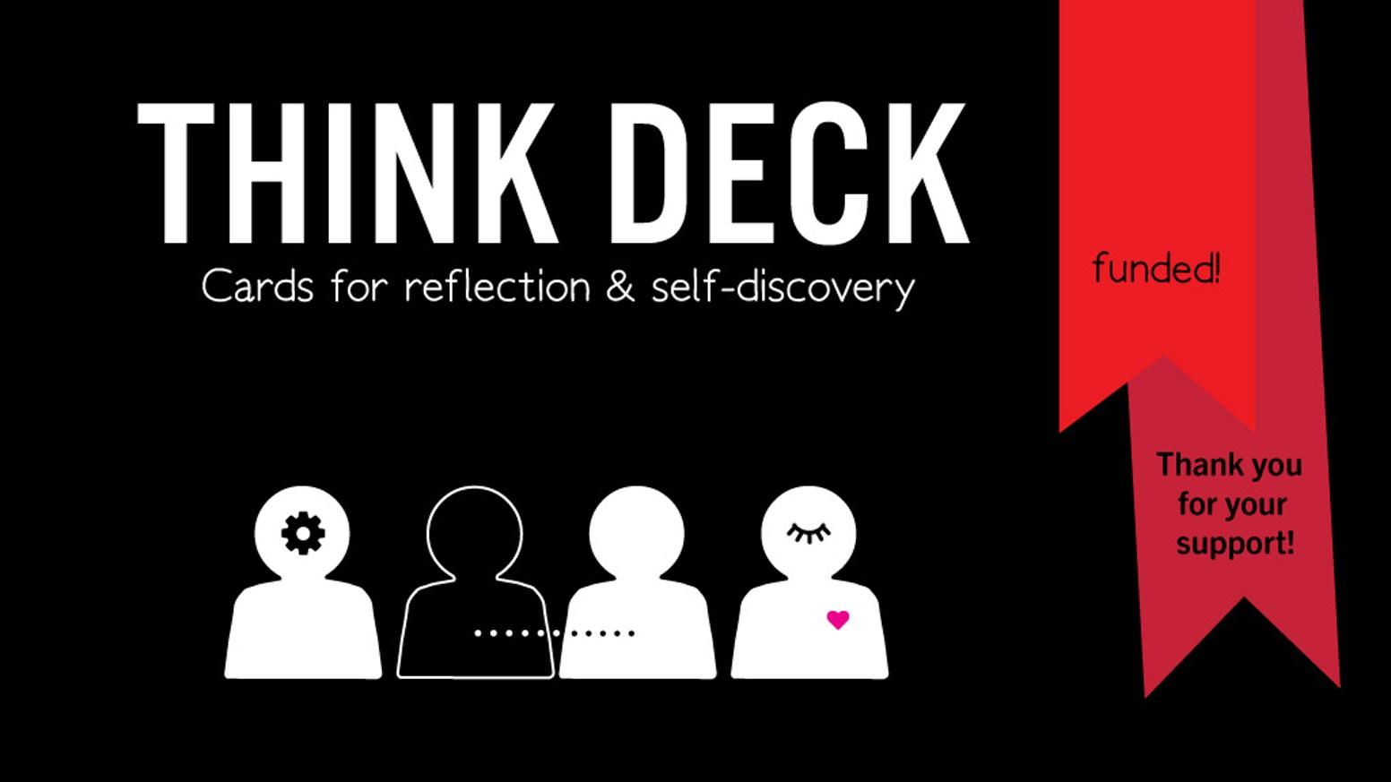 THINK DECK is a toolkit for reflection and self-discovery with sixty thought-provoking questions and a journaling exercise.