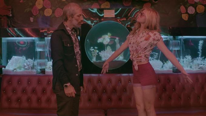 Jon Sklaroff and Ana Mulvoy-Ten as Percy and Grace