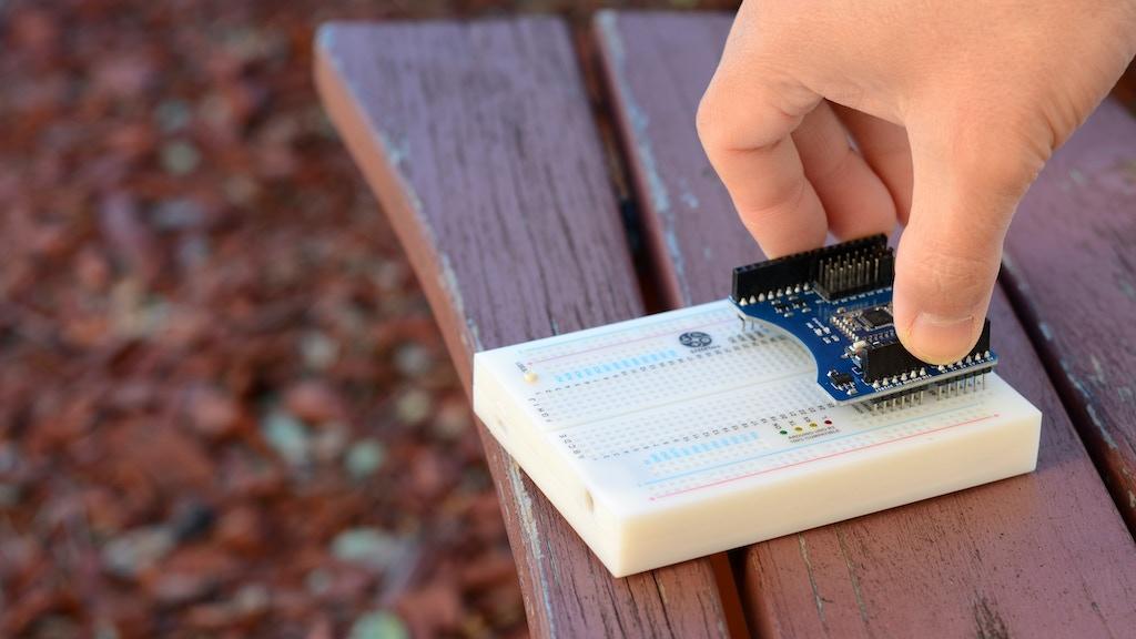 STEMTera Breadboard - Arduino compatible built-in breadboard project video thumbnail