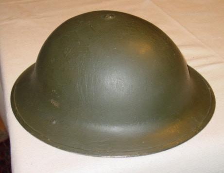 Tommy helmet (not actual marker)