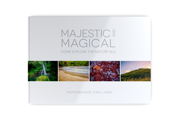A fine art photo-book featuring stunning images of Dominica, compiled to showcase the Caribbean island's unequaled natural beauty.