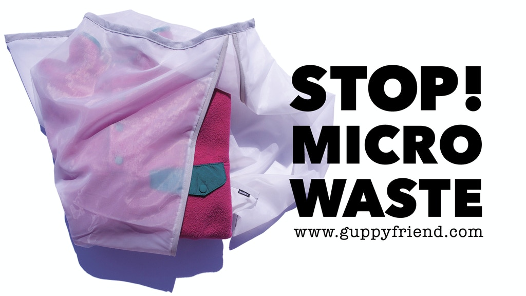 GUPPY FRIEND Washing Bag project video thumbnail