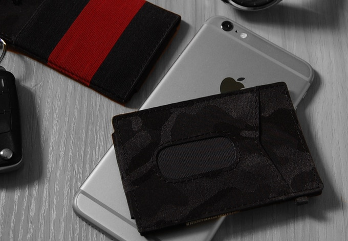Camo x-flex slim wallet