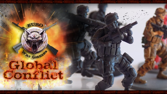 Track Global Conflict 28mm and 32mm Miniatures's Kickstarter