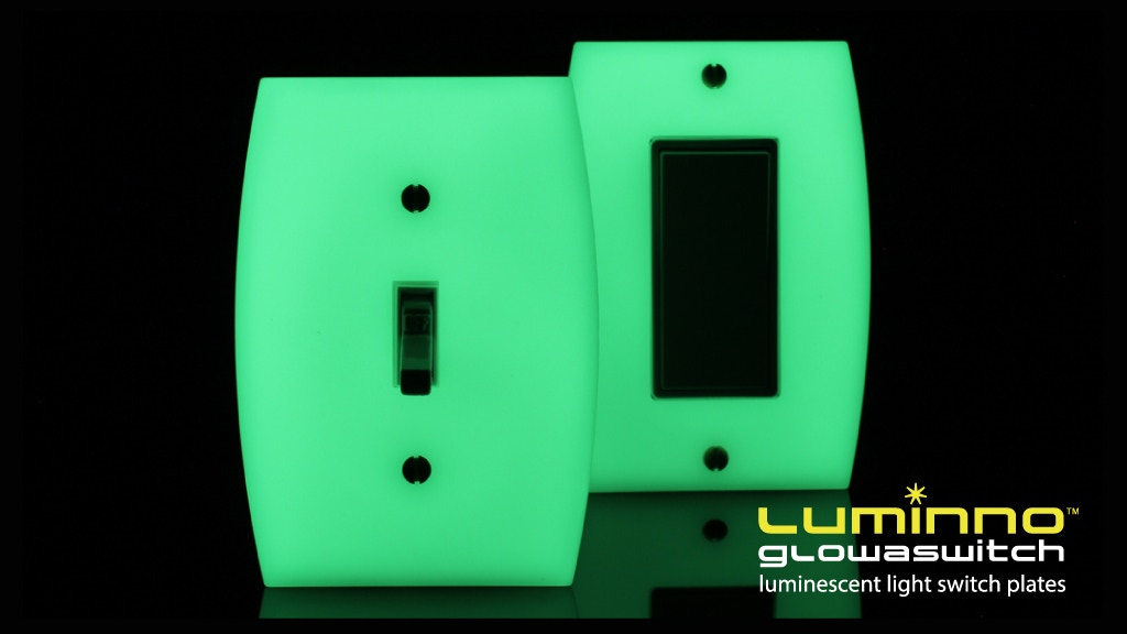 LUMINNO GlowaSwitch - The Light Switch Plate Reinvented project video thumbnail