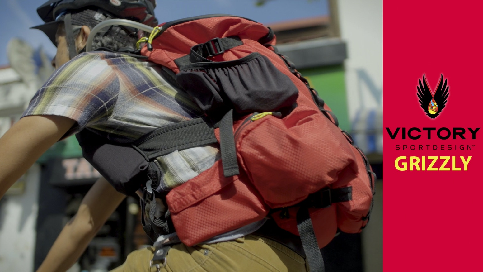 An organized, durable, water-resistant pack for commuting, fast-packing, adventuring and travel security.