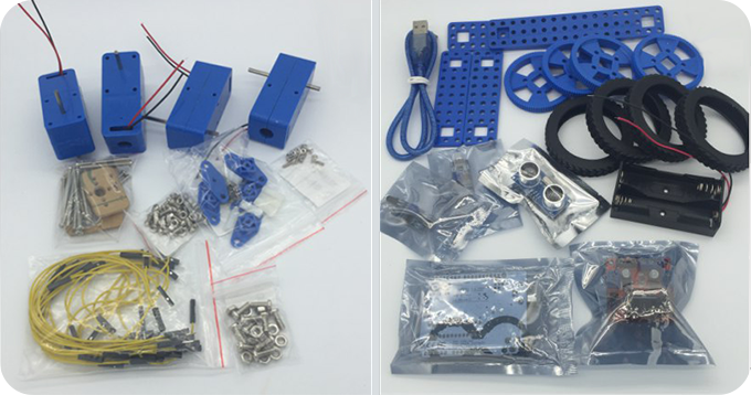 Robot Kit Components