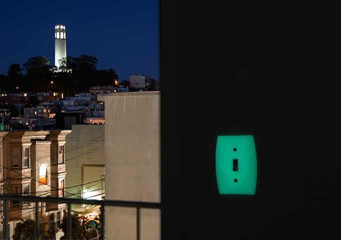 View from the building where GlowaSwitch was invented. Near Coit Tower in San Francisco