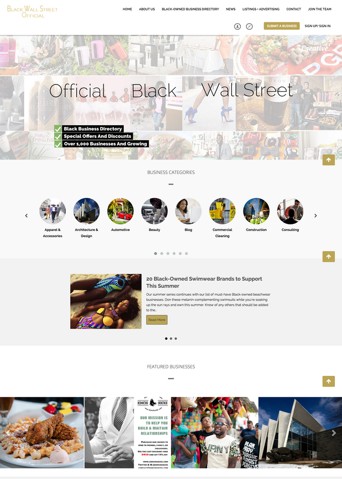 Official Black Wall Street Homepage