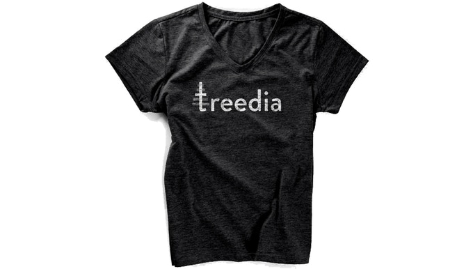 treedia logo shirt $40