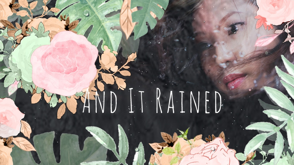 And It Rained: A novel about soul mates and original sin project video thumbnail