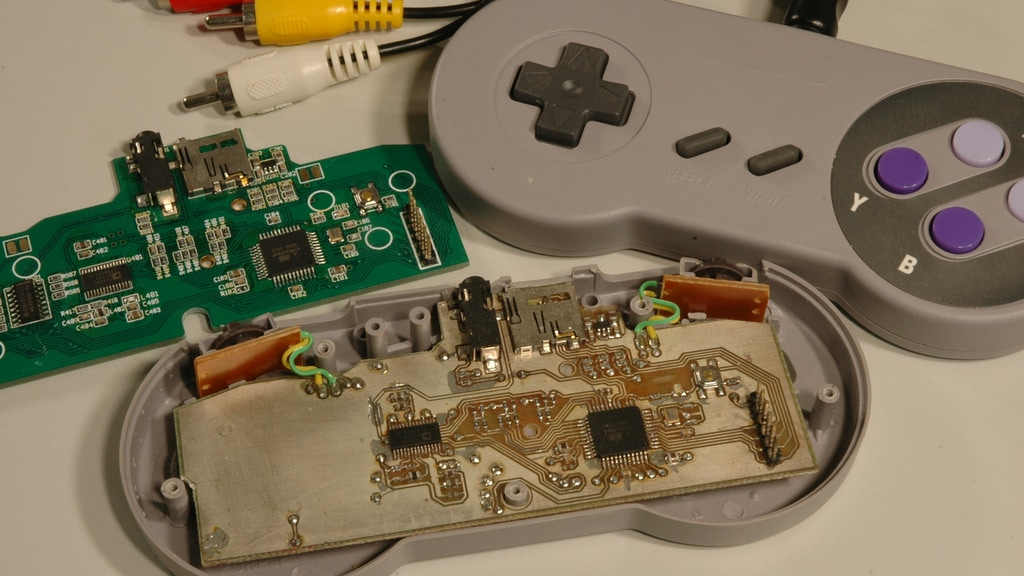 Uzebox DTV - Retro Gaming goodness in the palm of your hand project video thumbnail