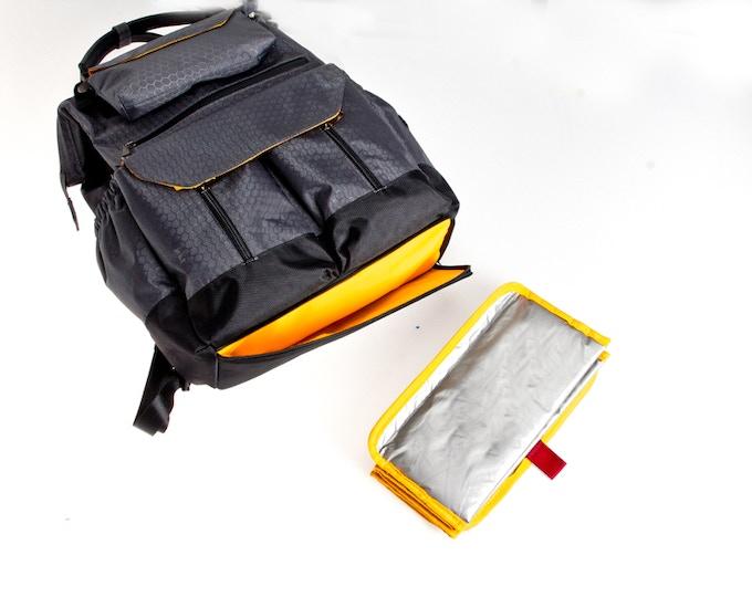 EZ-Diaper mat - just pull to use & splash resistant! (above)