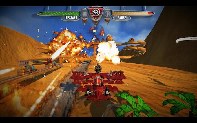 """Level 1 - """"Dry Desert"""", gameplay"""