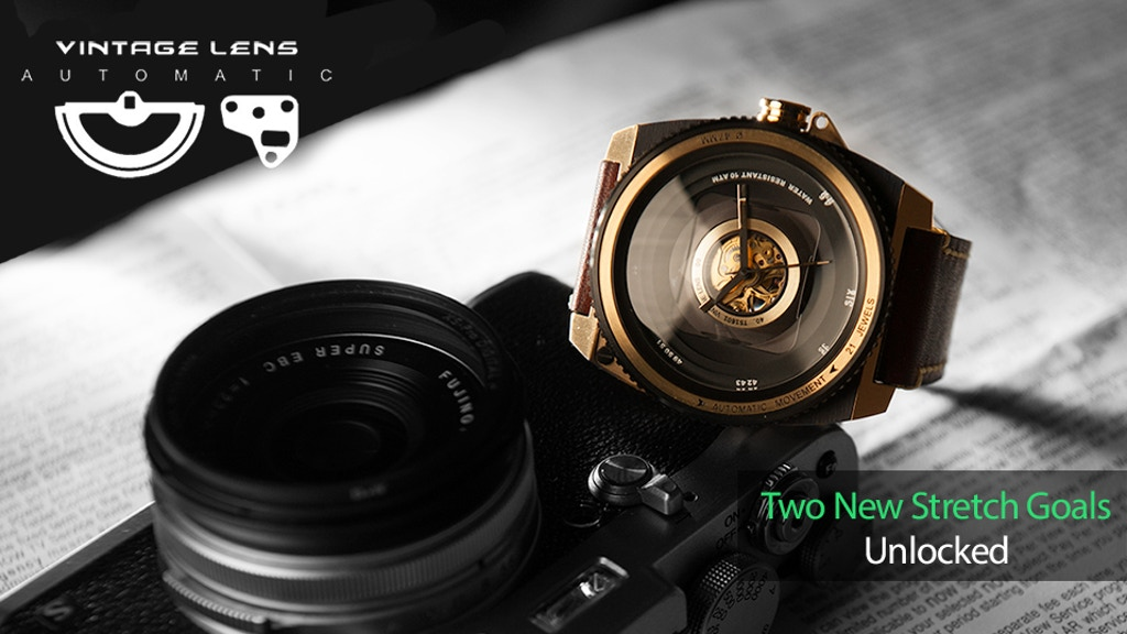 TACS | Automatic Vintage Lens- Watch inspired by photography project video thumbnail