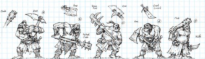 Ogre Warrior Concept Art