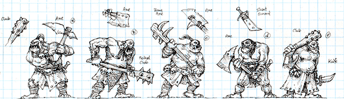 Ogre Warrior Concept Art