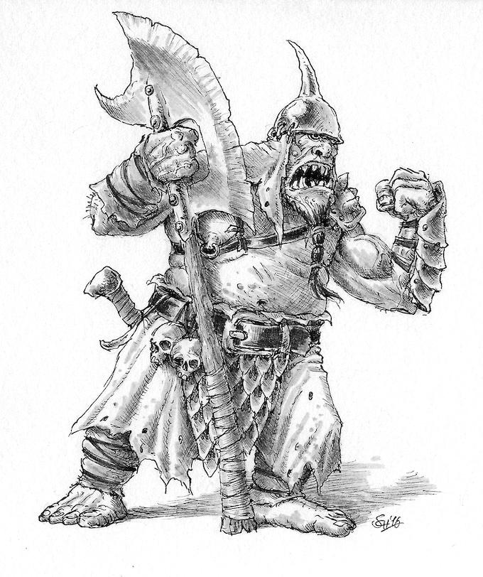 The Ogre Cheiftain