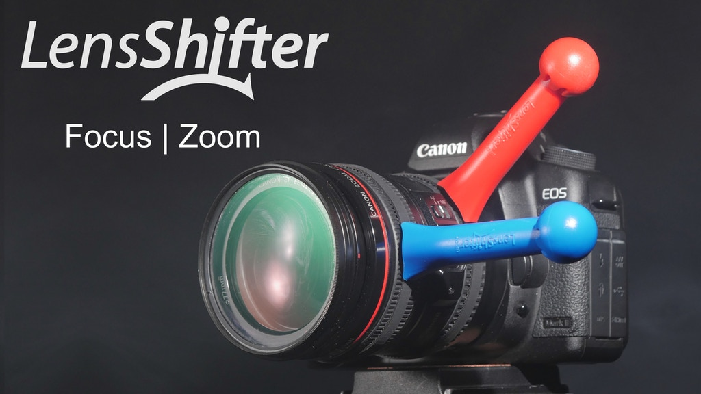 LensShifter: The Only Balanced Focus & Zoom Camera Lens Grip project video thumbnail