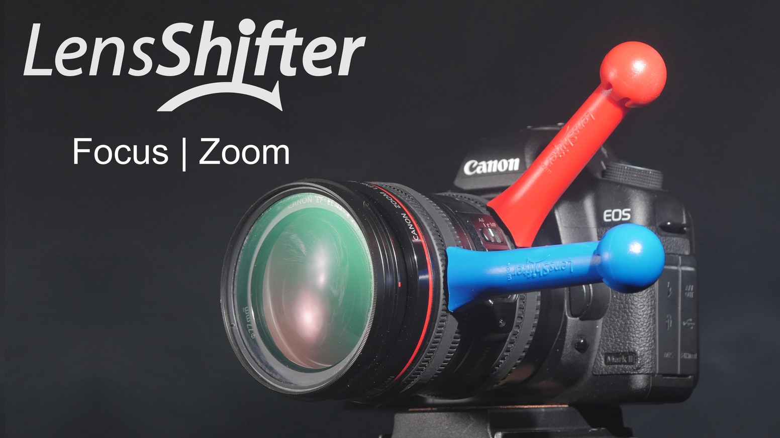 Get Finer Focus & Zoom Faster with LensShifter's Camera Lens Grip! Perfect for photography and video.