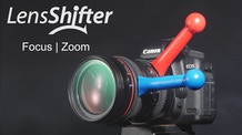 LensShifter - Balanced Zoom and Focus Grip for Camera Lens
