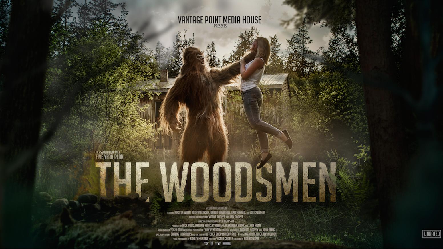 The Woodsmen A Bigfoot Short Film By Five Year Plan Kickstarter