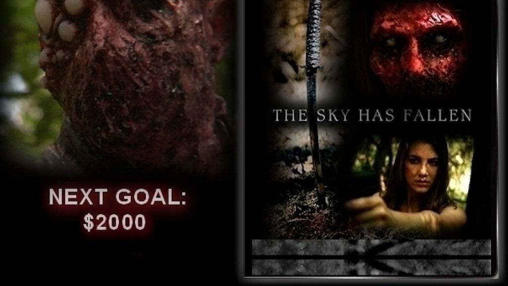 New Movie THE SKY HAS FALLEN No CGI Horror Film project video thumbnail