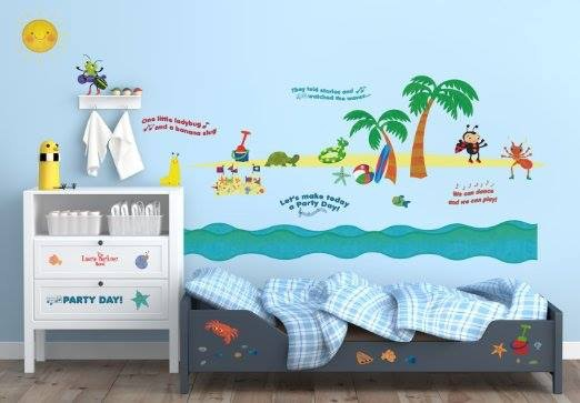 Party Day Wall Decals