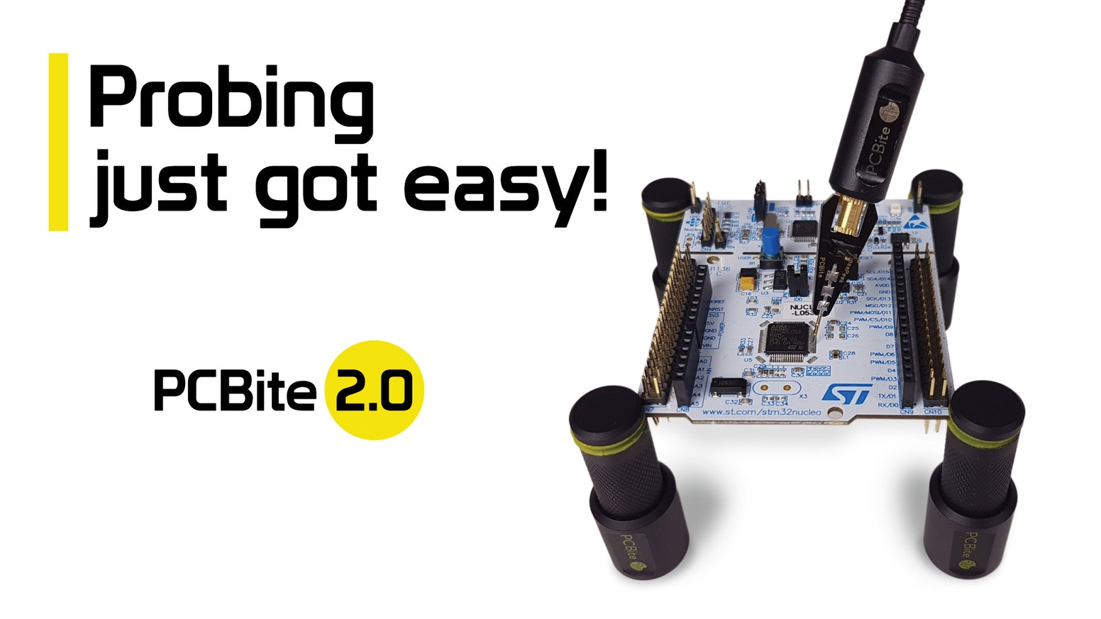 PCBite 2.0 - The hands-free & steady solution for your measurements