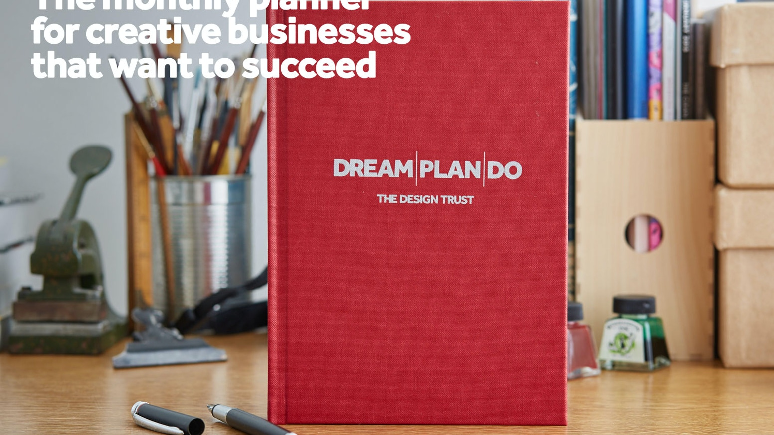 The must-have monthly planner to make YOUR creative business more successful in 2017 Practical, creative, strategic & thought-provoking