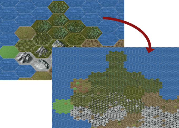 Child Map/Map Levels Example