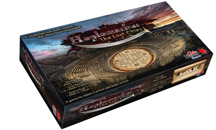 Hoplomachus is a hex and chip board game set in a gladiatorial arena. Use unique units & tactics to overwhelm your opponents.