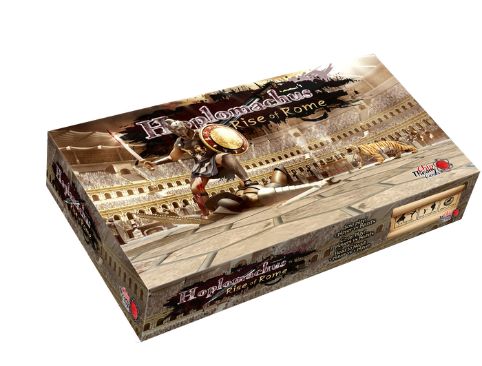 Rise of Rome is a tactical hex & chip game that builds on its predecessor with new units and 2 new cities! Stand-alone: 1-2 plyrs.
