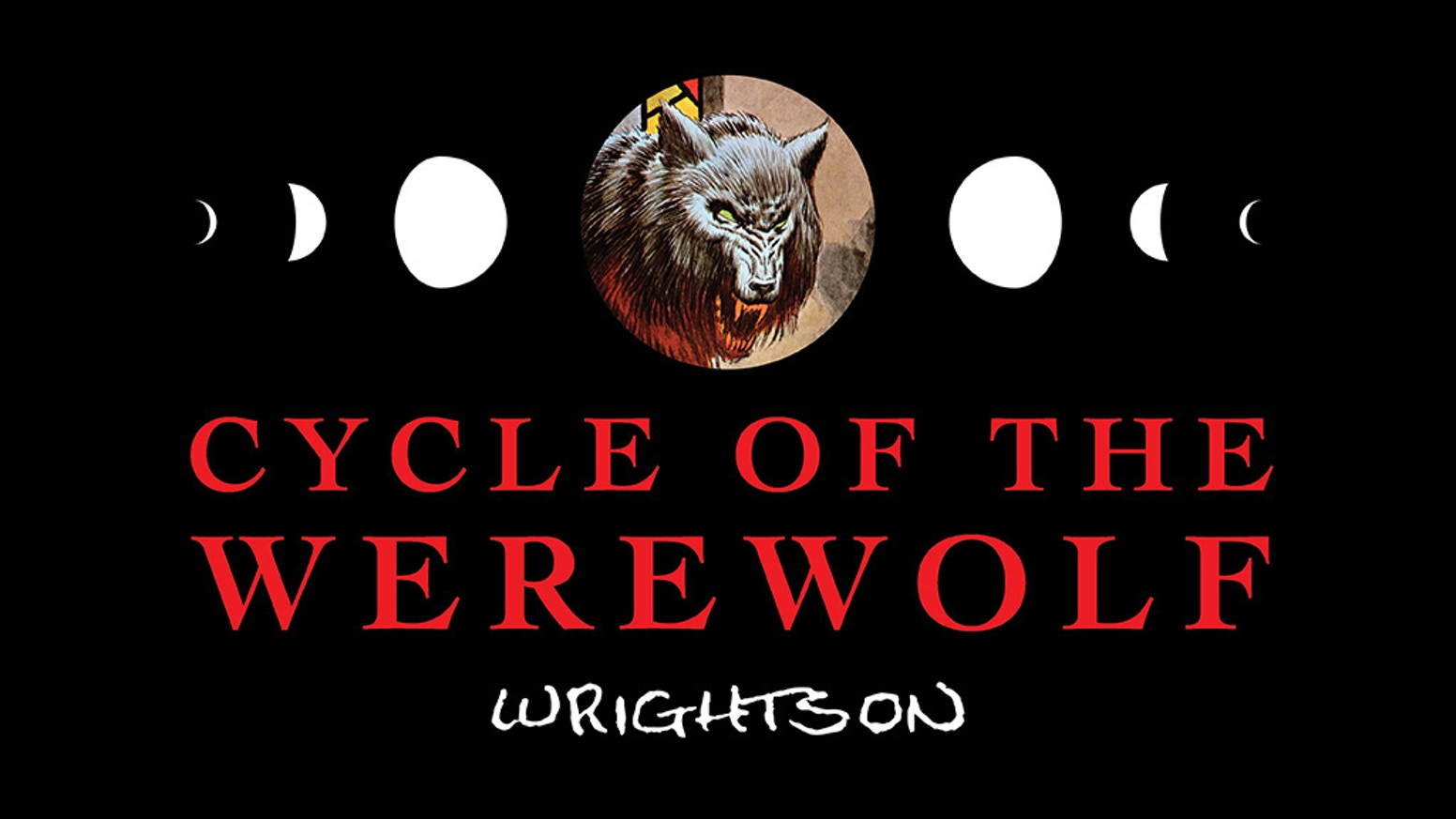 A limited edition fine-art portfolio of Bernie Wrightson's illustrations from Cycle of the Werewolf written by Stephen King!