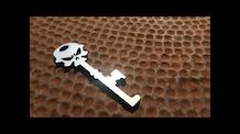 Wicked SKULLz Bottle Opener Key Chain