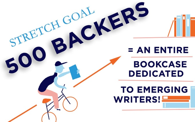 Be one of 500 backers to help us reach this new stretch goal!
