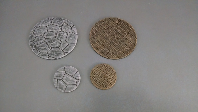 350 Backers - 50mm Mini Bases