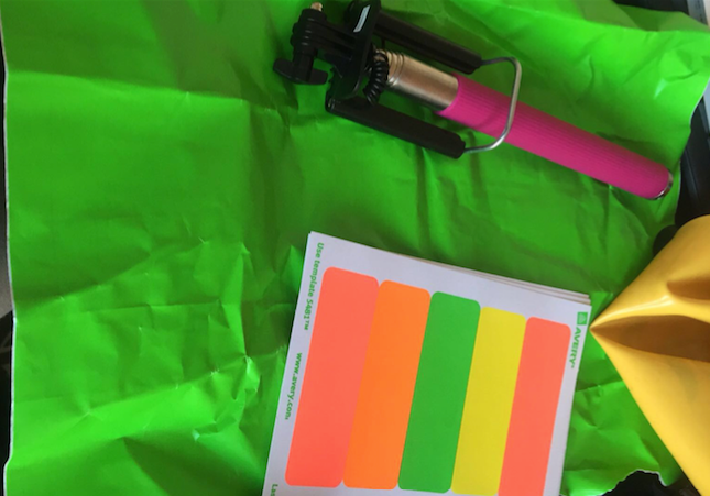 color tags (included with Bodbox purchase)