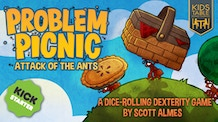 Problem Picnic: Attack of the Ants • A family dexterity game