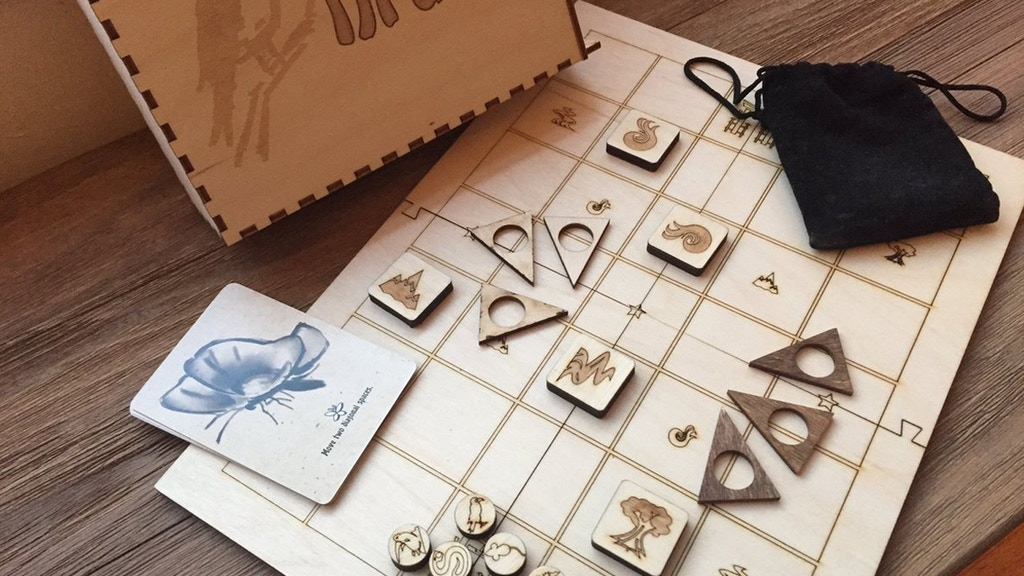 Druids: A beautiful wooden abstract game before Christmas project video thumbnail