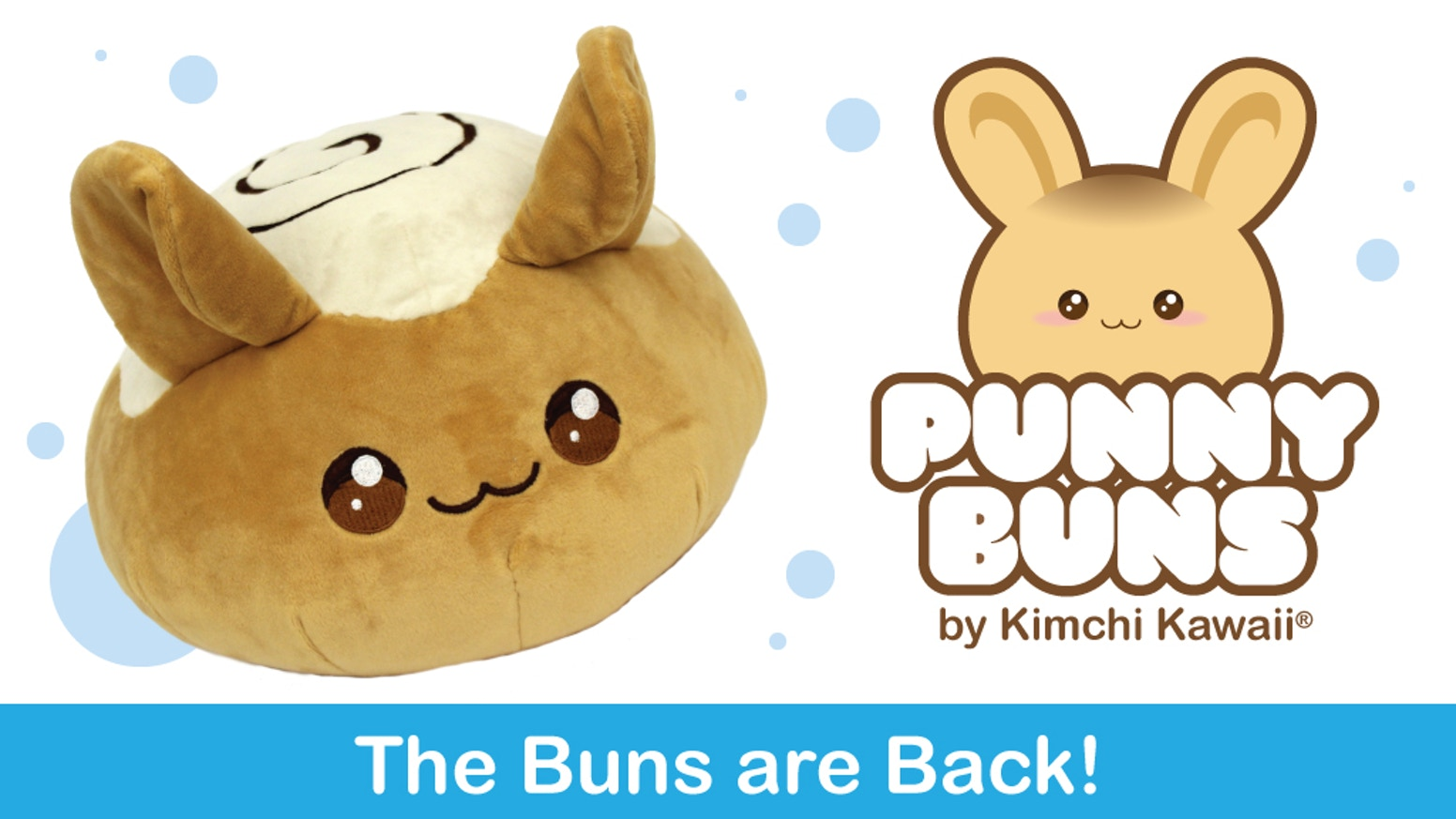 The Buns are Back! Help us fund the second wave of Punny Buns, super cute bread-based bunny puns in plush form!