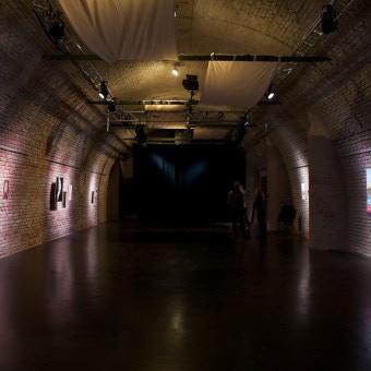 empty hall at Einstein Kultur