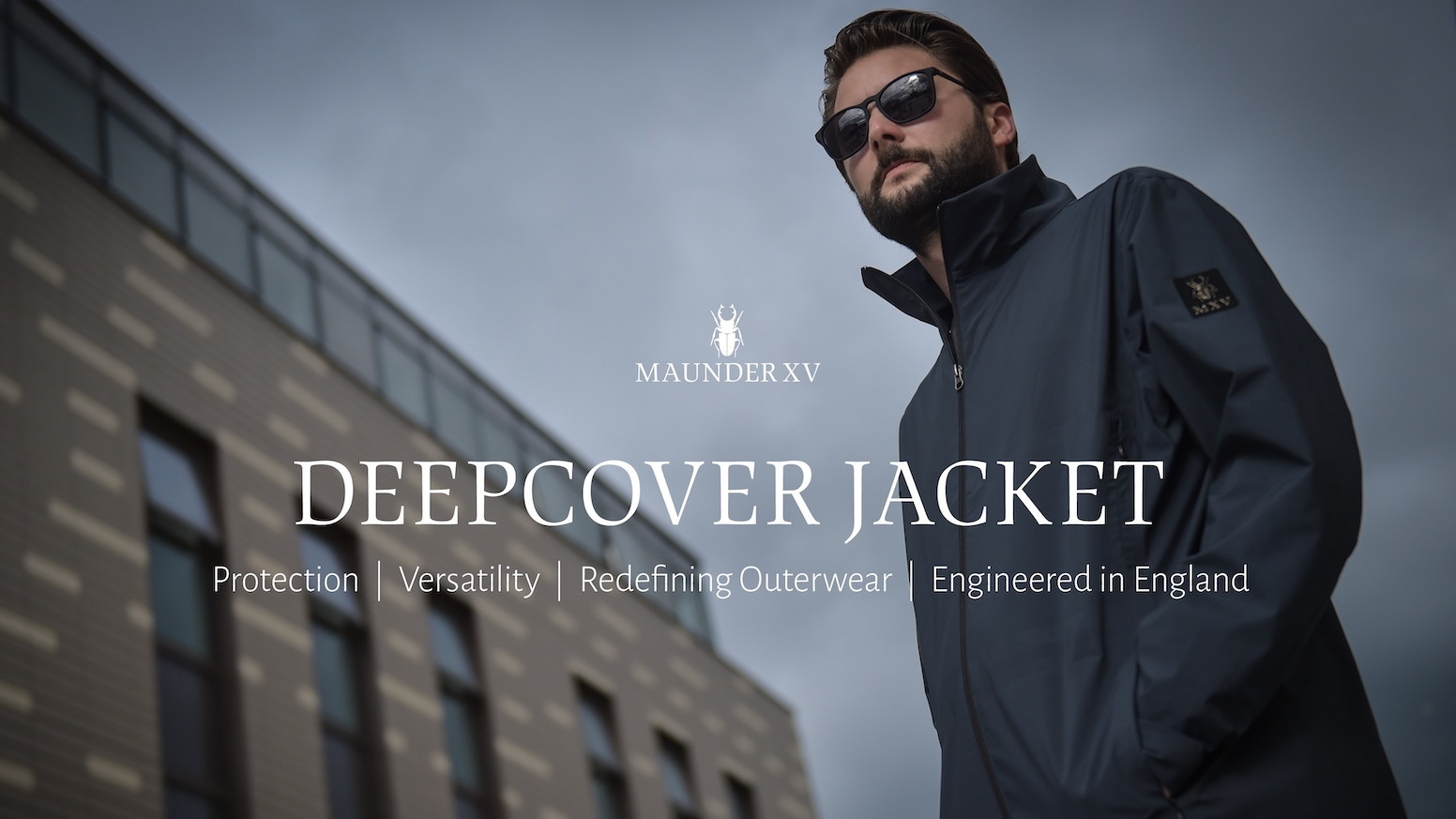Versatile 3 in 1 technical jacket rich in features. Considerately engineered in England for every scenario.