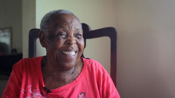Mustafa's Grandmother has been our biggest supporter.