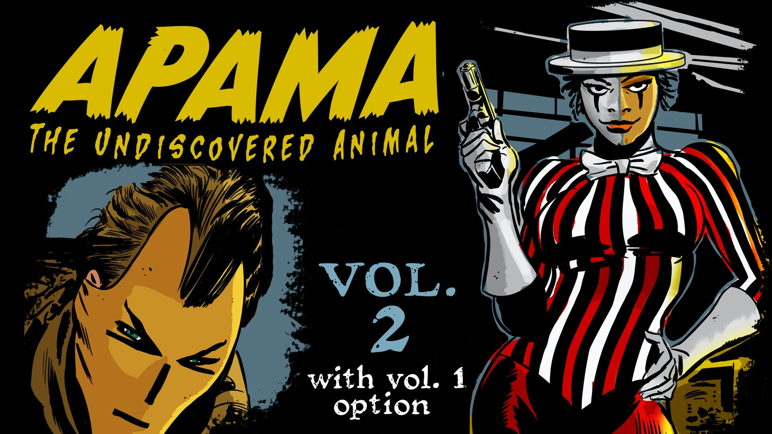 The new 160+ page story arc (with vol. 1 option) of the critically acclaimed Apama series includes 6 issues, and is loaded with extras!