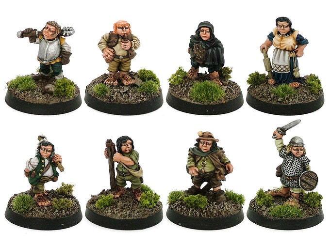The Halfling Town Council