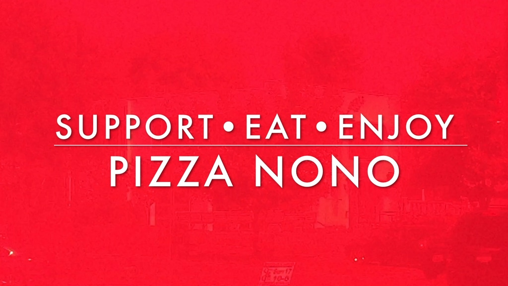 PIZZA NONO project video thumbnail