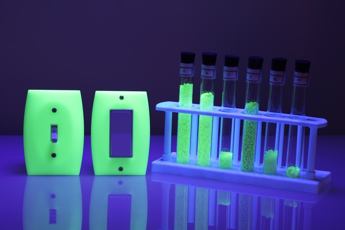 LUMINNO's supercharging glow material is the result of exhaustive experimentation