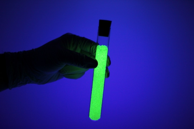 LUMINNO's supercharged, long-persistence luminescent glow-in-the-dark plastic
