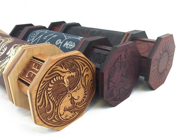 Summoner, Oracle, and Mystic Plus Cap Art tiers come with exclusive cap art (L-R): Serpent, Spellcircle, and Elvish.